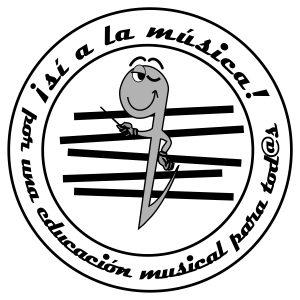 Campaña Sí a la música: logotipo doña Corchea
