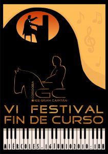 Festival fin de curso 2010: cartel