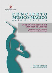 Guía didáctica concierto En el principio: portada