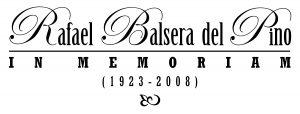 Rafael Balsera del Pino in memoriam: membrete