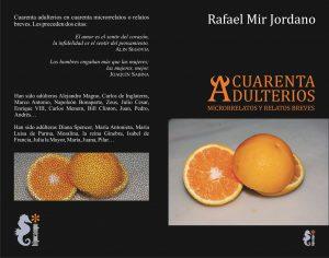 Cuarenta adulterios, de R. Mir Jordano: cubiertas